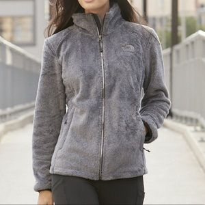 THE NORTH FACE | fuzzy full zip jacket